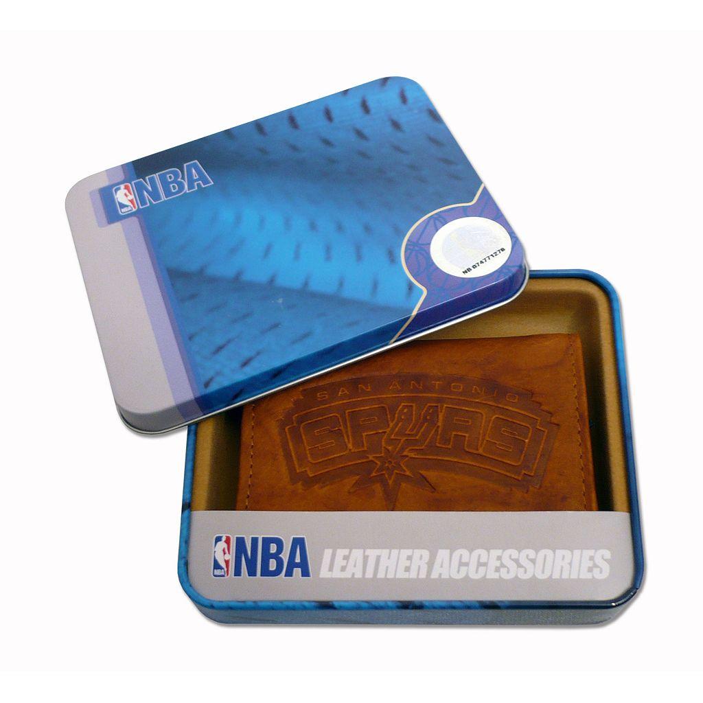 San Antonio Spurs Leather Bifold Wallet
