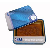 San Antonio Spurs Leather Bifold Wallet