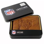 Chicago Bears Leather Bifold Wallet