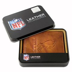 Buffalo Bills Leather Bifold Wallet