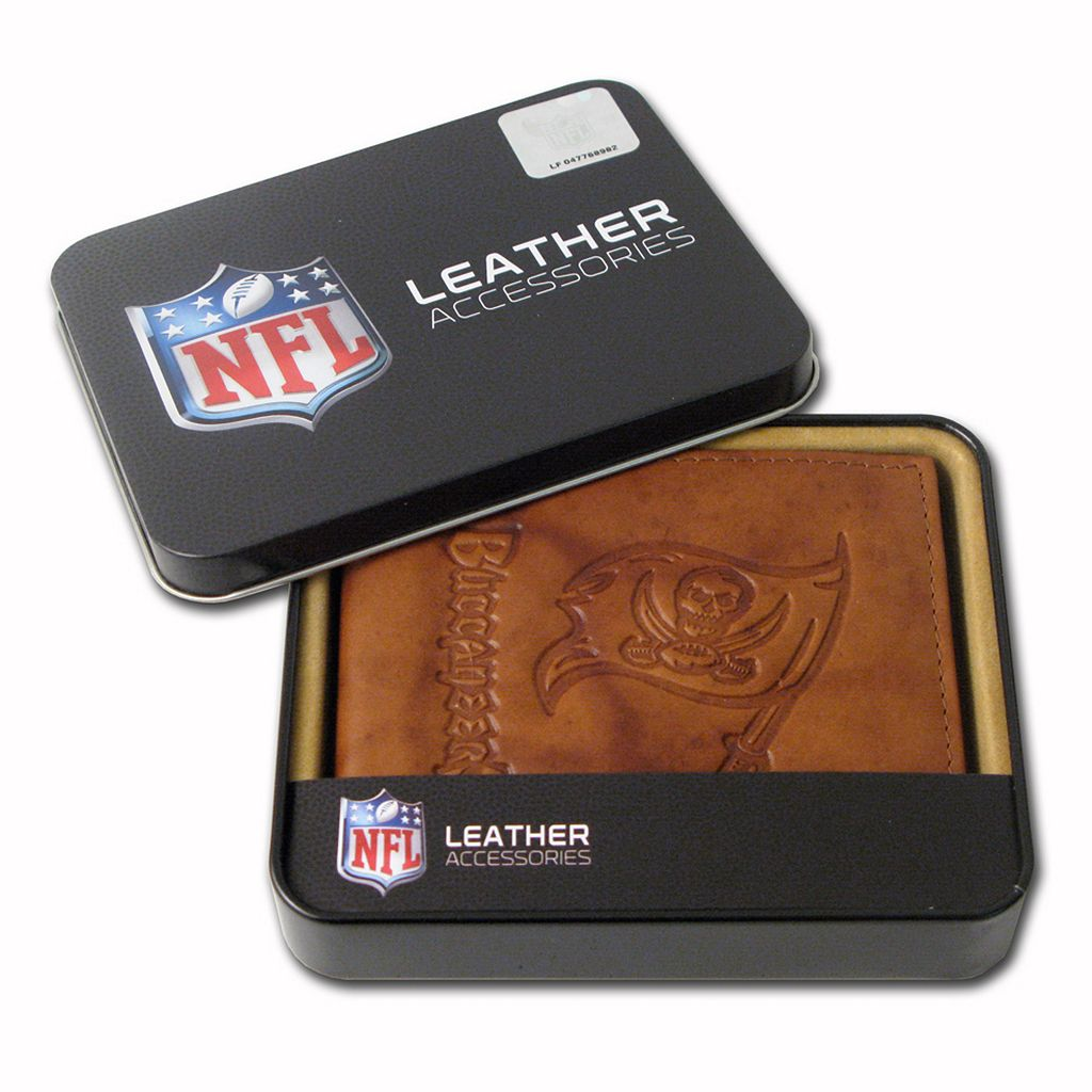 Tampa Bay Buccaneers Leather Bifold Wallet