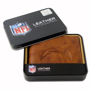 San Diego Chargers Leather Bifold Wallet