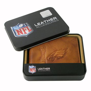 Philadelphia Eagles Leather Bifold Wallet
