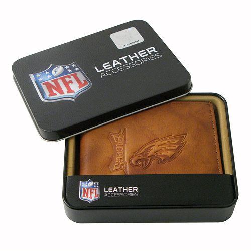 Philadelphia Eagles Leather Bifold Wallet