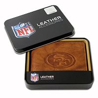 San Francisco 49ers Leather Bifold Wallet