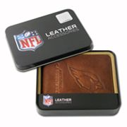 Arizona Cardinals Leather Bifold Wallet