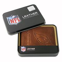 Arizona Cardinals Leather Bifold Wallet
