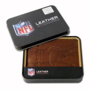 Atlanta Falcons Leather Bifold Wallet
