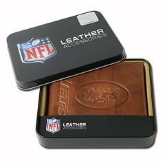 New York Jets Leather Bifold Wallet