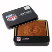 Green Bay Packers Leather Bifold Wallet