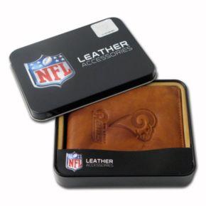 St. Louis Rams Leather Bifold Wallet