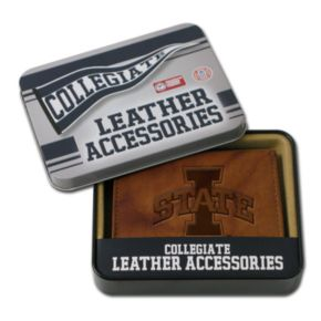 Iowa State Cyclones Leather Trifold Wallet