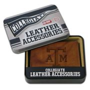 Texas A&M Aggies Embossed Leather Trifold Wallet