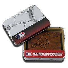 Atlanta Braves Leather Trifold Wallet