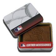 Arizona Diamondbacks Leather Trifold Wallet