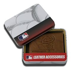 Arizona Diamondbacks Leather Trifold Wallet