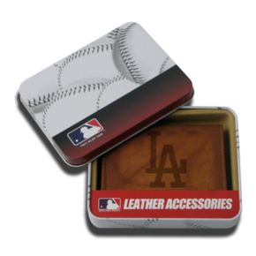 Los Angeles Dodgers Leather Trifold Wallet