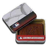 Florida Marlins Leather Trifold Wallet