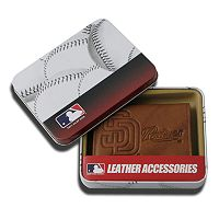 San Diego Padres Leather Trifold Wallet