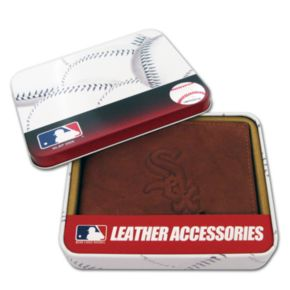 Chicago White Sox Leather Trifold Wallet