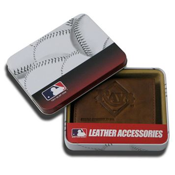 Tampa Bay Rays Leather Trifold Wallet