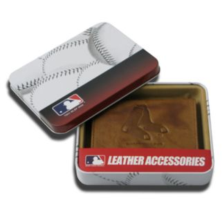 Boston Red Sox Leather Trifold Wallet