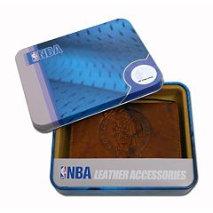 Boston Celtics Leather Trifold Wallet