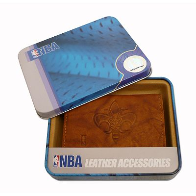 New Orleans Hornets Leather Trifold Wallet