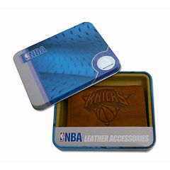 New York Knicks Leather Trifold Wallet