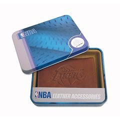 Los Angeles Lakers Leather Trifold Wallet