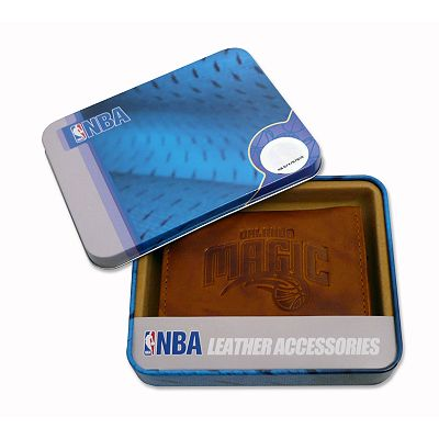 Orlando Magic Leather Trifold Wallet