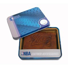 Philadelphia 76ers Leather Trifold Wallet