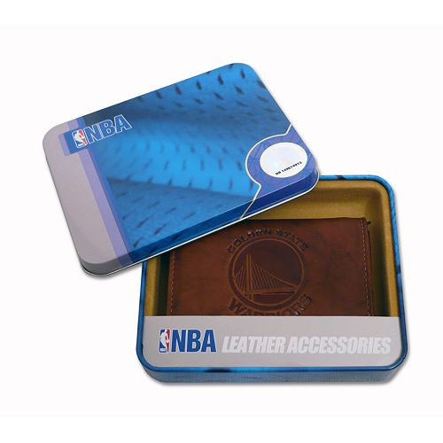 Golden State Warriors Leather Trifold Wallet