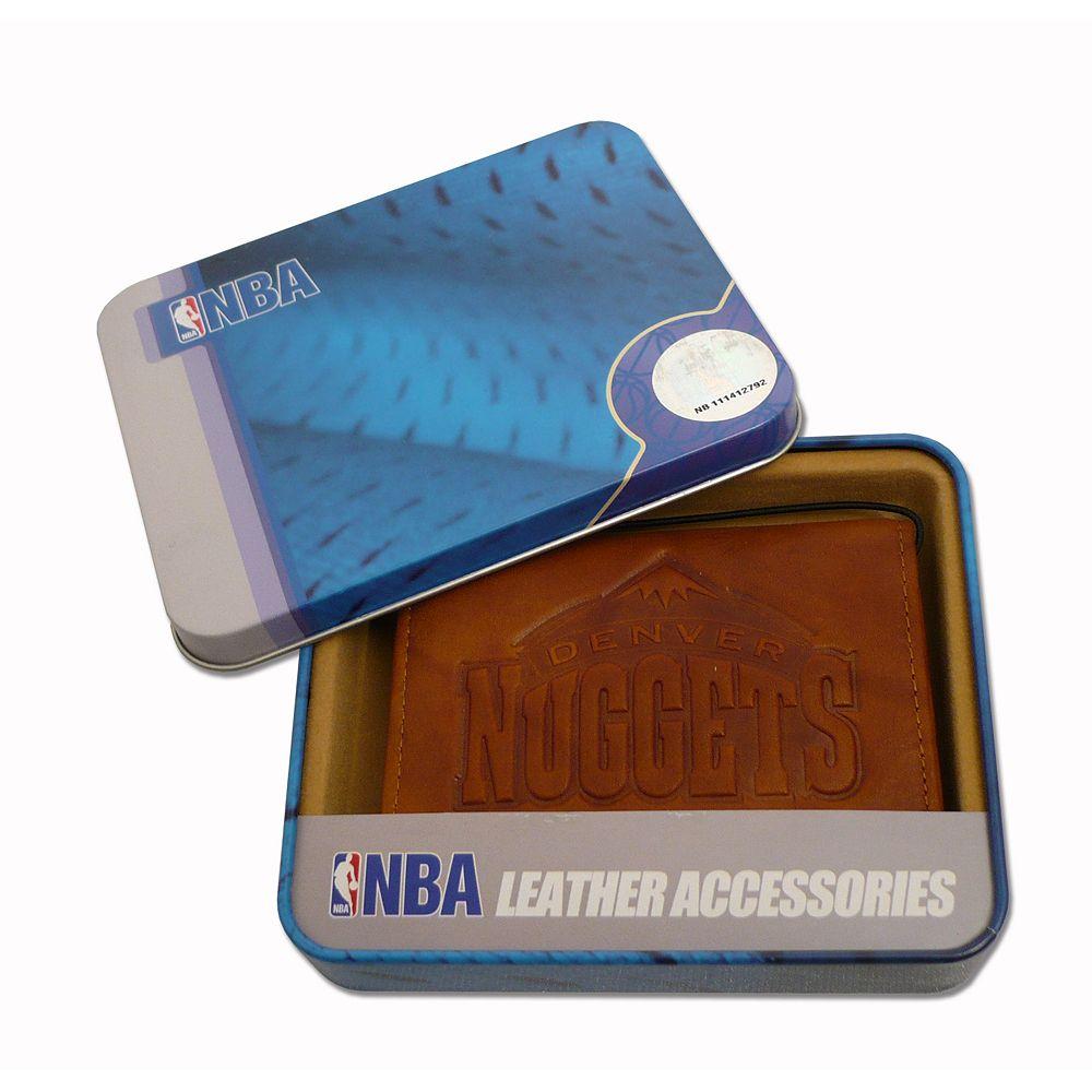 Denver Nuggets Leather Trifold Wallet