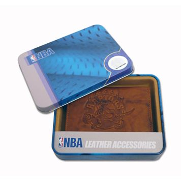 Toronto Raptors Leather Trifold Wallet
