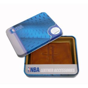 Houston Rockets Leather Trifold Wallet