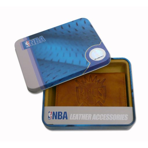 Sacramento Kings Leather Trifold Wallet