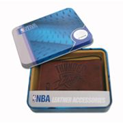 Oklahoma City Thunder Leather Trifold Wallet
