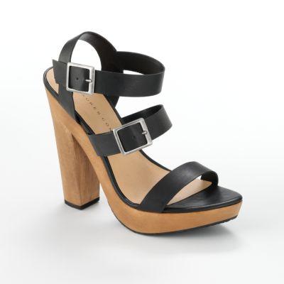 LC Lauren Conrad Zander Platform Sandals