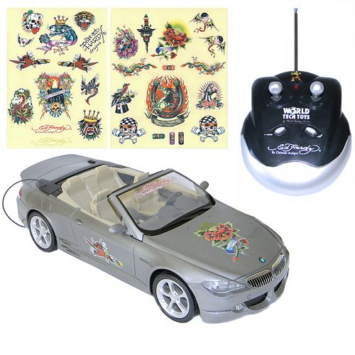 Ed Hardy Bmw Convertible Remote-Controlled Car