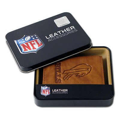 Buffalo Bills Leather Trifold Wallet