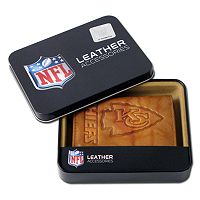 Kansas City Chiefs Leather Trifold Wallet