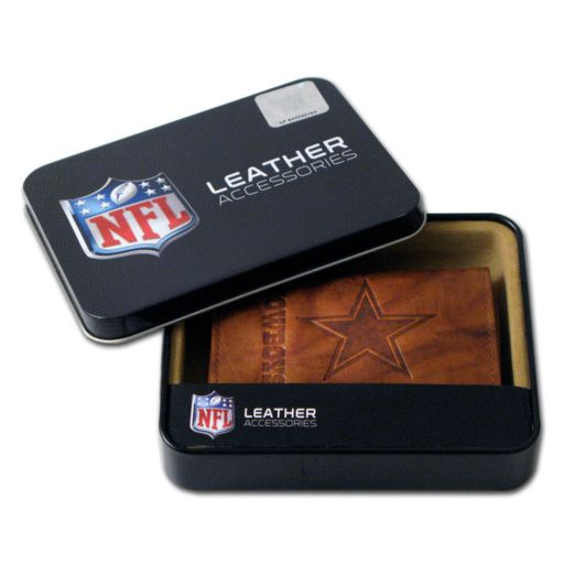 Dallas Cowboys Leather Trifold Wallet