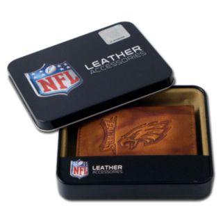 Philadelphia Eagles Leather Trifold Wallet
