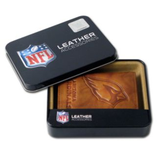 Arizona Cardinals Leather Trifold Wallet