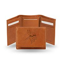 Minnesota Vikings Leather Trifold Wallet