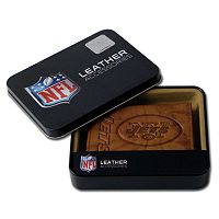 New York Jets Leather Trifold Wallet