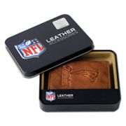 New England Patriots Leather Trifold Wallet