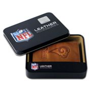 St. Louis Rams Leather Trifold Wallet