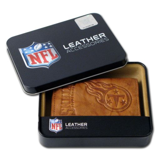 Tennessee Titans Leather Trifold Wallet